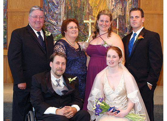 Ceremony, Flowers & Decor, Wedding Dresses, Veils, Fashion, orange, blue, silver, dress, Veil, Bridegroom