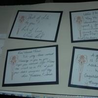 Reception, Flowers & Decor, orange, blue, silver, Programs