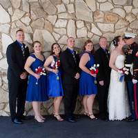 Bridesmaids, Bridesmaids Dresses, Wedding Dresses, Fashion, white, red, blue, dress, Marine, Corps