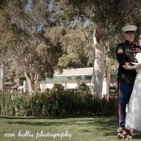Wedding Dresses, Fashion, white, red, blue, dress, Bride, Groom, And, Marine, Corps