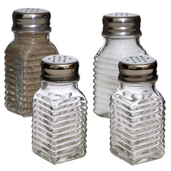 Shakers, Pepper, Salt