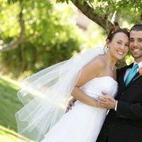 Ceremony, Flowers & Decor, Wedding Dresses, Fashion, white, orange, blue, dress, Ceremony Flowers, Flowers, Flower Wedding Dresses