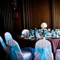 Reception, Flowers & Decor, blue, brown