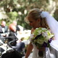 Flowers & Decor, white, purple, green, Bride Bouquets, Bride, Flowers, Bouquet