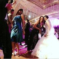 Beauty, Reception, Flowers & Decor, Wedding Dresses, Fashion, white, green, dress, Makeup, Bride Bouquets, Bride, Flowers, Hair, Dancer, Flower Wedding Dresses