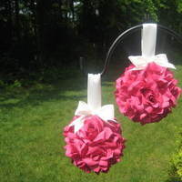 Ceremony, Inspiration, Reception, Flowers & Decor, Decor, Bridesmaids, Bridesmaids Dresses, Fashion, white, pink, red, purple, silver, gold, Ceremony Flowers, Aisle Decor, Bride Bouquets, Bridesmaid Bouquets, Flowers, Bouquet, Girl, Bridesmaid, Board, Aisle, Kissing, Pomanders, Balls, Flower Wedding Dresses