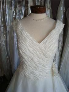 Wedding Dresses, Fashion, white, dress, Gown, Wedding, Designer, Size, C, 14, Haro, Peres