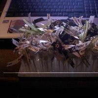Reception, Flowers & Decor, white, green, brown, Bubbles