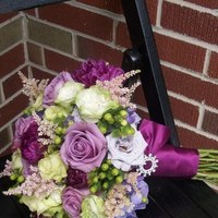Flowers & Decor, purple, green, Bride Bouquets, Flowers, Bouquet, Brides
