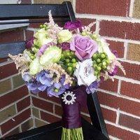Flowers & Decor, purple, green, Bride Bouquets, Flowers, Bouquet, Brides