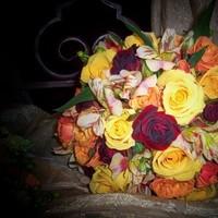 Flowers & Decor, yellow, orange, Bride Bouquets, Flowers, Bouquet, Brides