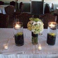 Reception, Flowers & Decor, green, Centerpieces, Centerpiece
