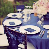 Reception, Flowers & Decor, pink, blue, Flowers