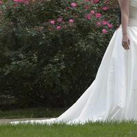 Wedding Dresses, Fashion, white, pink, green, dress, Train