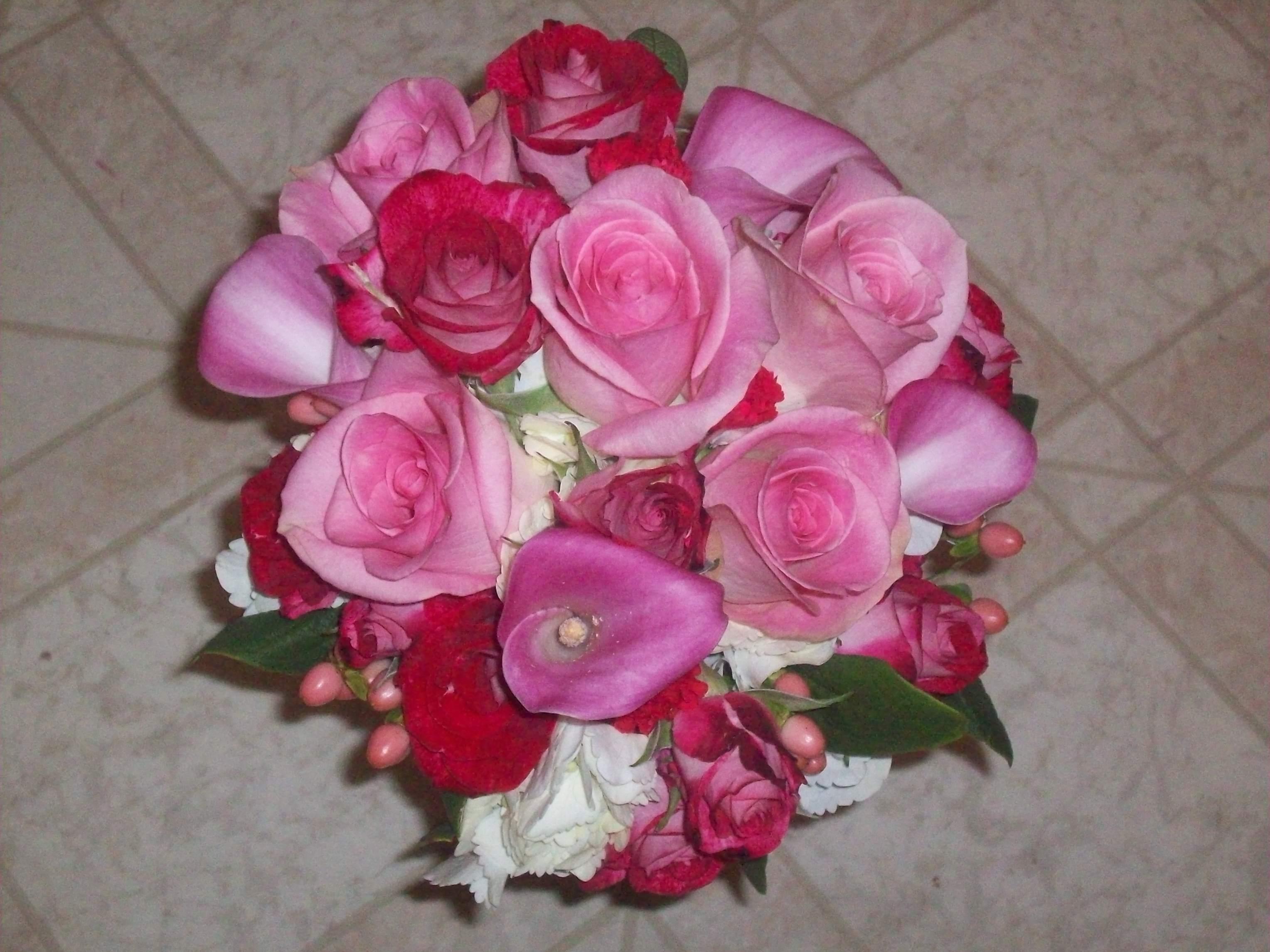 Flowers & Decor, Bridesmaids, Bridesmaids Dresses, Fashion, pink, Bride Bouquets, Bridesmaid Bouquets, Flowers, Bouquet, Flower Wedding Dresses