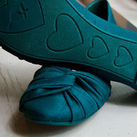 Shoes, Fashion, blue, green, Dancing, Flat
