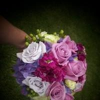Flowers & Decor, Bridesmaids, Bridesmaids Dresses, Fashion, purple, green, Bridesmaid Bouquets, Flowers, Flower Wedding Dresses
