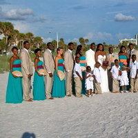 Bridesmaids, Bridesmaids Dresses, Fashion, orange, blue, green