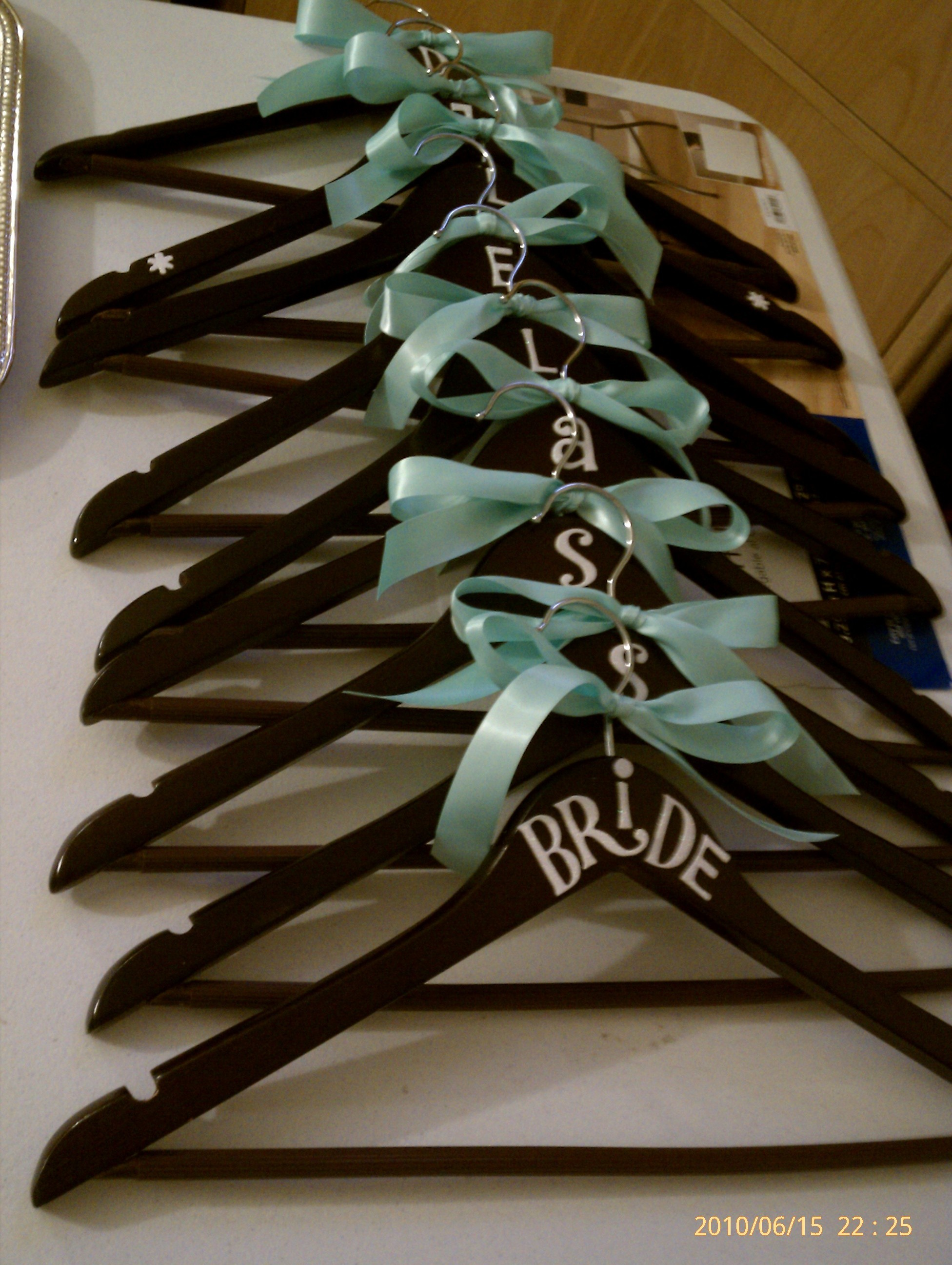 DIY, blue, brown, Tiffany, Hangers
