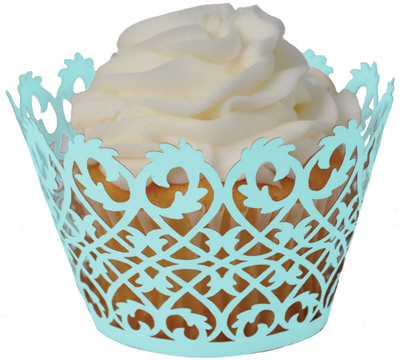 Reception, Flowers & Decor, Favors & Gifts, blue, Favors, Cupcakes, Tiffany, Decorations