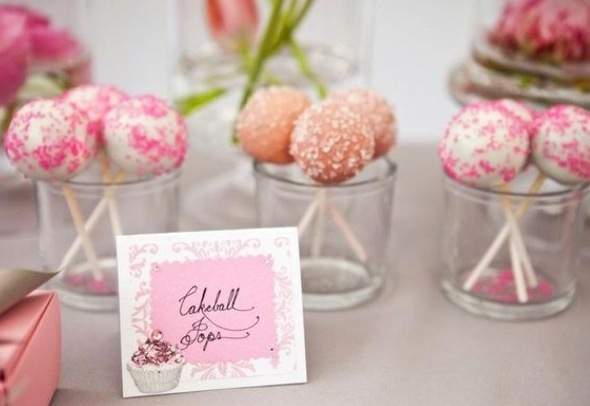 Reception, Flowers & Decor, Cakes, white, pink, cake