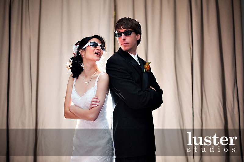 Reception, Flowers & Decor, Jewelry, Bride, Groom, Sunglasses