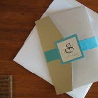 DIY, Stationery, blue, Invitations, Turquoise