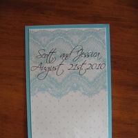 Ceremony, DIY, Reception, Flowers & Decor, blue, Lace, Fans, Turquoise