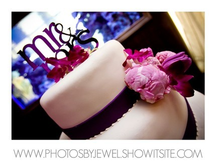 Cakes, purple, cake, Modern, Modern Wedding Cakes, Cake Toppers