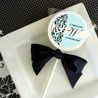 Reception, Flowers & Decor, Favors & Gifts, blue, Favors, Candy, Tiffany, Bar, Lollipops