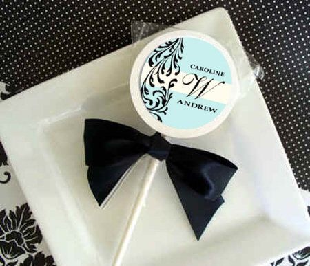Reception, Flowers & Decor, Favors & Gifts, blue, Favors, Candy, Tiffany, Bar, Lollipops