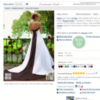 Wedding Dresses, Fashion, white, brown, dress