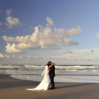 Ceremony, Flowers & Decor, white, Beach, Beach Wedding Flowers & Decor
