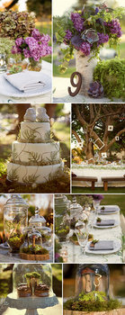Ceremony, Inspiration, Reception, Flowers & Decor, Cakes, cake, Board, Woods, Woodland