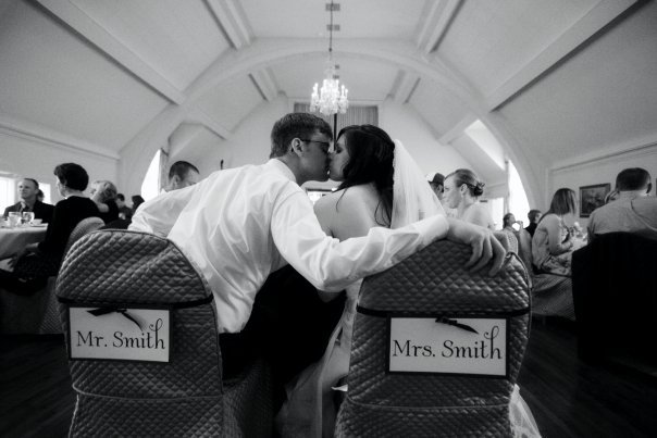 Inspiration, Reception, Flowers & Decor, white, black, Kiss, Board, Mr, Mrs