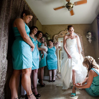 Bridesmaids, Bridesmaids Dresses, Wedding Dresses, Shoes, Fashion, blue, dress