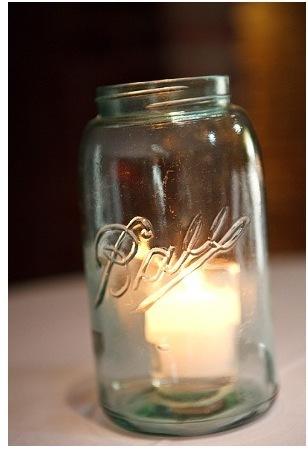Reception, Flowers & Decor, white, Jars