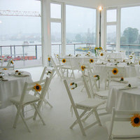 Reception, Flowers & Decor, white, yellow