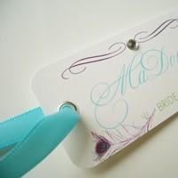 Bridesmaids, Bridesmaids Dresses, Fashion, white, purple, blue, green, Bouquet, Tags