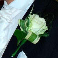 Flowers, green, Groom, Buttonhole, Flowers & Decor