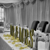Reception, Flowers & Decor, green, Table, Top, Mrmrs