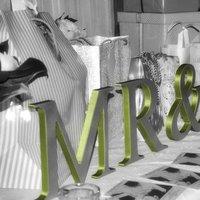 Reception, Flowers & Decor, green, Mrmrs