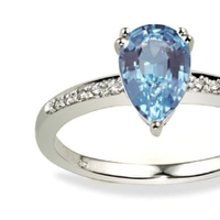 Jewelry, blue, Engagement Rings, Ring, Engagement