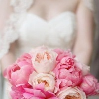 Flowers & Decor, Wedding Dresses, Stationery, Fashion, white, pink, purple, green, dress, Invitations, Flowers, Flower Wedding Dresses