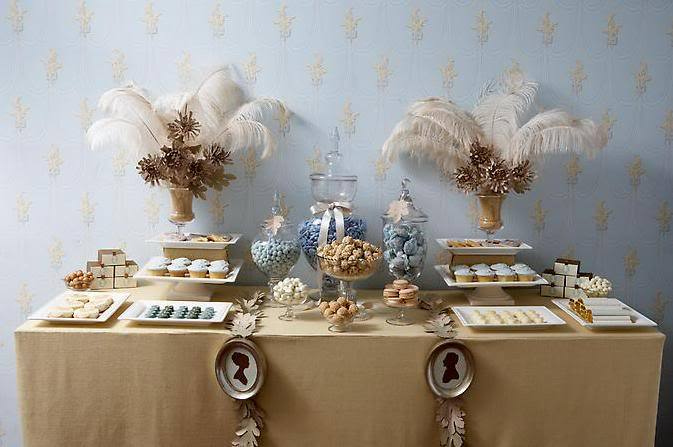 Dessert, Table, Buffet