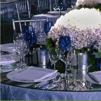 Reception, Flowers & Decor, blue, Flowers