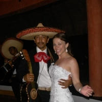 Reception, Flowers & Decor, Wedding Dresses, Destinations, Fashion, white, dress, Mexico, Bride, Mariachi