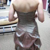 Bridesmaids, Bridesmaids Dresses, Wedding Dresses, Fashion, green, brown, gold, dress