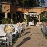 Ceremony, Flowers & Decor, Ceremony Flowers, Aisle Decor, Flowers, Aisle, Crystals