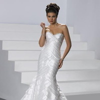 Beauty, Wedding Dresses, Fashion, white, silver, dress, Hair